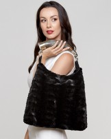 Designer Fur Horn Handbags