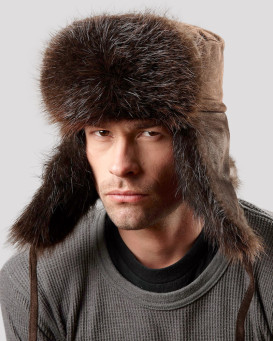 The Beaver Russian Trooper Hat for Men