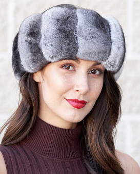 Exquisite Chinchilla Fur Headband