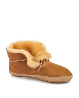 Soft Sole Sheepskin Moccasin Slippers