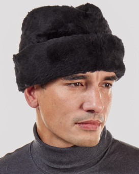 Faux Fur Cossack Hat for Men
