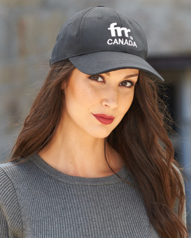 Frr Canada Brand Base Ball Cap in Black