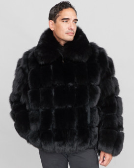 Jacob Black Fox Fur Parka