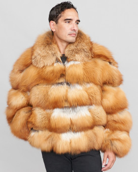 Jacob Red Fox Fur Parka