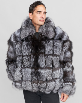 Jacob Silver Fox Fur Parka