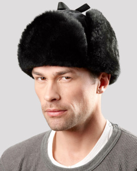 OPP Mouton Sheepskin Trapper Hat