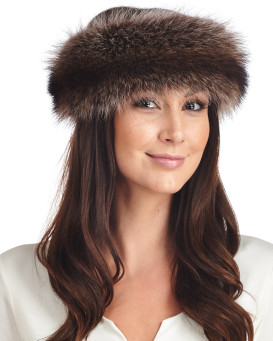 Raccoon Fur Headband