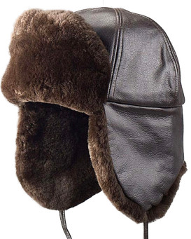 Sheared Beaver Trapper Hat for Men