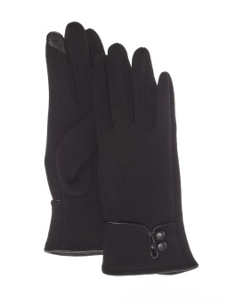 Erin Touch Tech Handschuh in schwarz