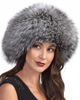 The Vail Silver Fox Beret