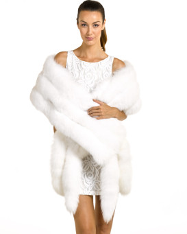 White Fur Stole >> Fur Capes Stoles Furhatworld Com