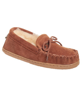 Childrens Sheepskin Moccasin Slippers (Ages 6-10 years)