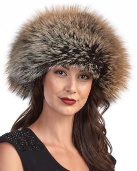 The Vail Gold Fox Beret